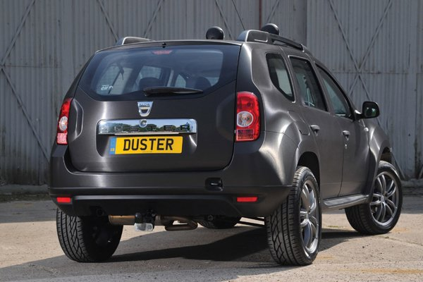 Duster Black Edition - спецверсия от Dacia