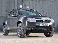Duster Black Edition - спецверсия от Dacia