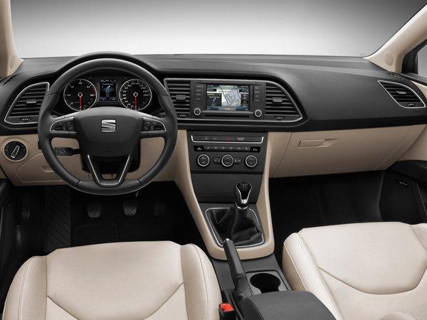Seat Leon ST - первые официальные снимки