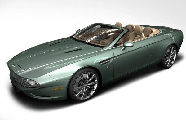 Aston Martin DBS и DB9 Spyder Zagato Centennial