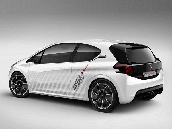 Peugeot 208 Hybrid FE Concept – первые фото
