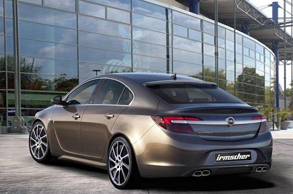 Irmscher покажет доработанный седан Opel Insignia