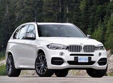 BMW презентовал дизельный кроссовер X5 M50d