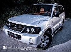 Vilner добавил роскоши интерьеру Mitsubishi Pajero