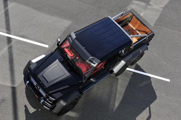 Brabus создал B63S на базе Mercedes G63 AMG 6x6