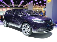 Renault представил минивэн будущего Initiale Paris