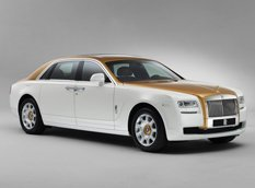 Rolls-Royce представил Ghost Golden Sunbird Edition