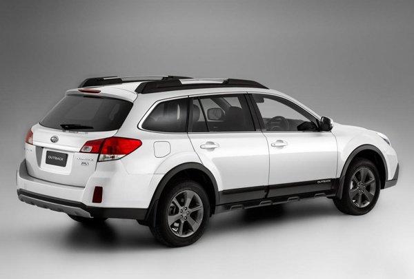 Subaru рассекретил Outback 2014 для Австралии