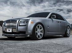 Rolls-Royce Ghost получил обвес от Vorsteiner