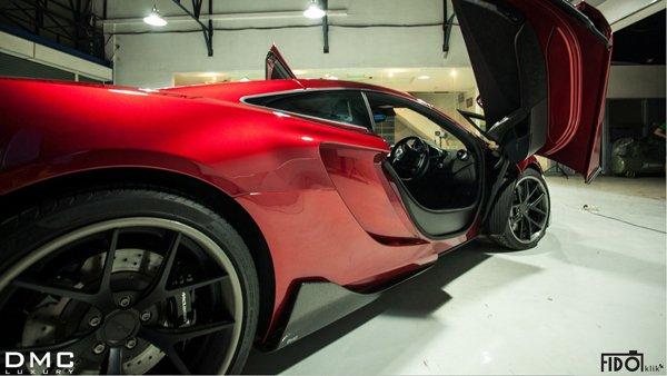 DMC представил суперкар McLaren 12C Velocita SE