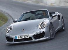 Porsche показал 911 Turbo и 911 Turbo S Cabriolet
