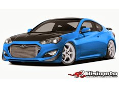 Hyundai покажет 1000-сильный Genesis Coupe