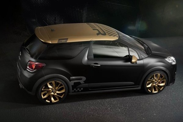 DS3 Racing Gold Mat - новинка от Citroen