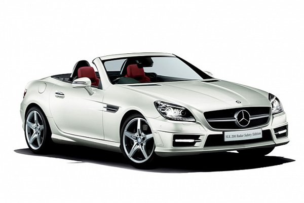 Mercedes представил SLK 200 Radar Safety Edition