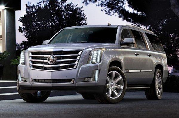 Cadillac Escalade 2014 - официальный пресс-релиз