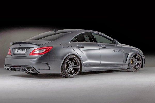 Mercedes-Benz CLS Black Edition от Prior Design