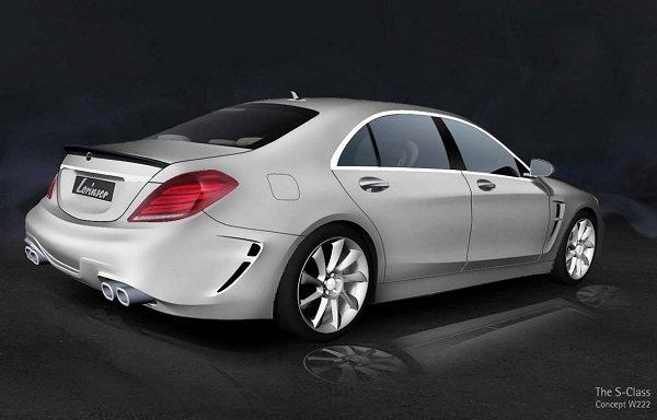 Lorinser готовит пакет для Mercedes S-Class W222