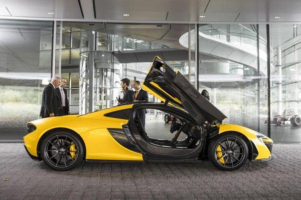 McLaren полностью рассекретил характеристики P1