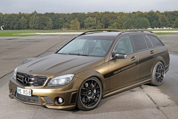 Mercedes C63 от FolienCenter-NRW и SR-Performance