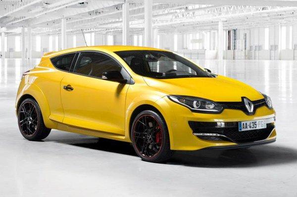 Renault показал снимки Megane RS 265 2014