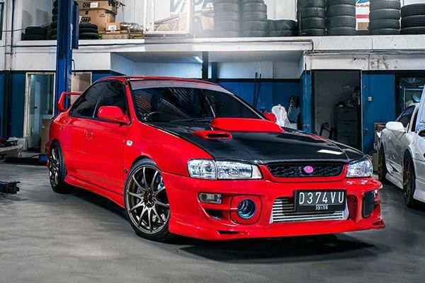 Тюнинг Subaru Impreza WRX STi 1994 года выпуска