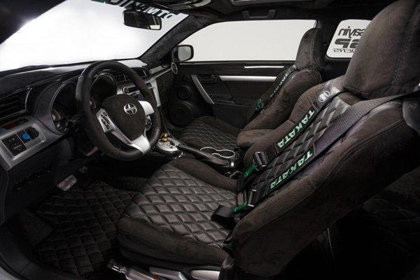 Scion привезет в Лас-Вегас три уникальных купе tC