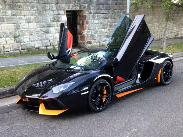 Lamborghini Aventador LP 700-4 Halloween Edition