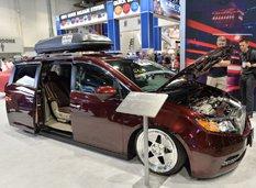 Bisimoto построил 1029-сильную Honda Odyssey