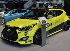 SEMA 2013: Hyundai Veloster EGR Night Racer