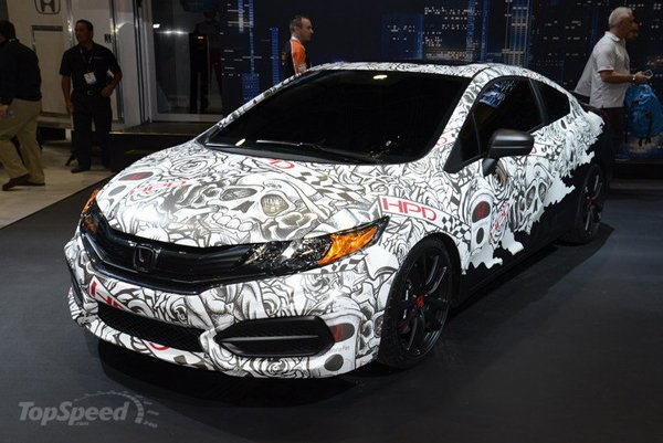 SEMA 2013: Honda HPD Civic Street Performance