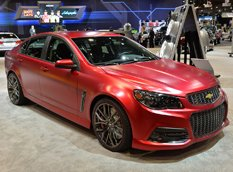 SEMA 2013: Chevrolet SS Performance Sedan Concept
