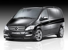 Mercedes-Benz Viano в обвесе JMS и Piecha Design