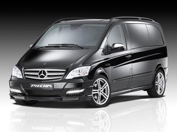Mercedes-Benz Viano в обвесе JMS и Piecha Design