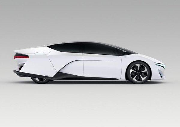 Лос-Анджелес 2013: Honda FCEV