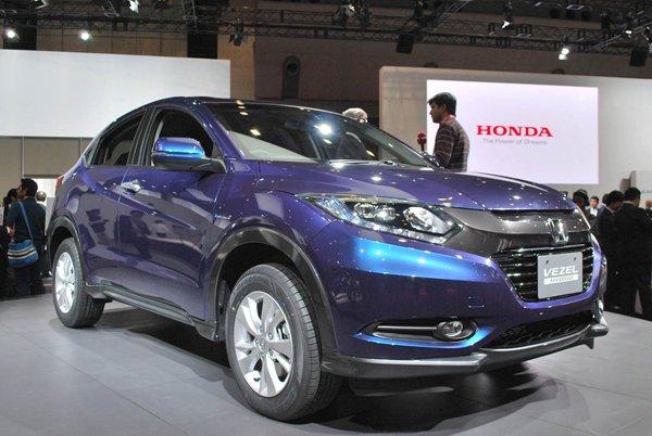 Токио 2013: Honda показала кроссовер Vezel