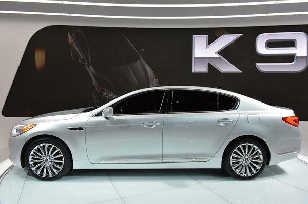 Лос-Анджелес 2013: K900 - люксовый седан от Kia