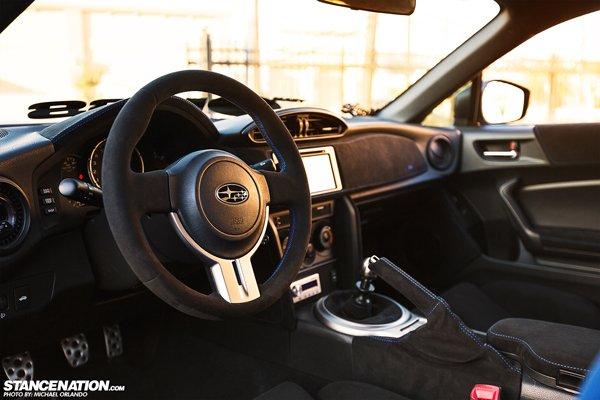 Уникальный компрессорный Subaru BRZ из Техаса