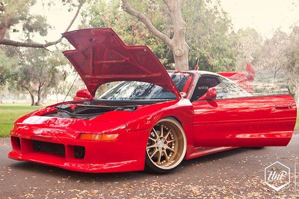 Toyota MR2 Turbo по прозвищу Red Devil