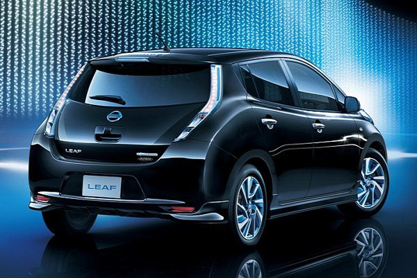 Электрокар Nissan Leaf получил опциональный обвес
