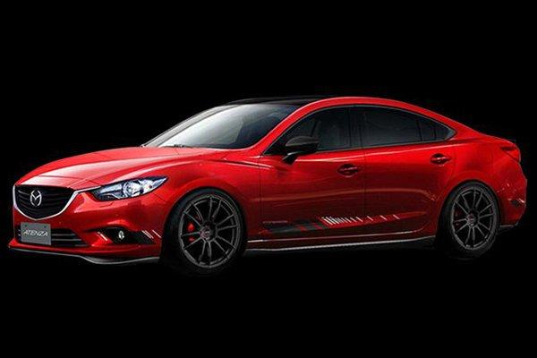 В Токио покажут эксклюзивные Mazda Atenza и CX-5