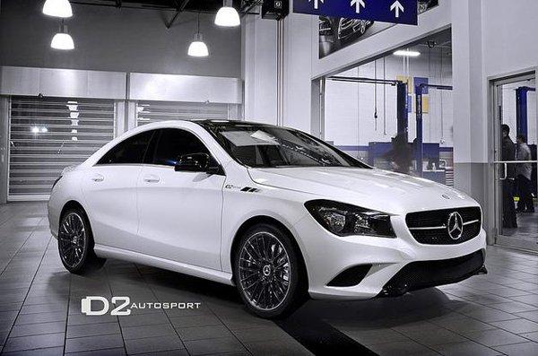 Mercedes-Benz CLA D2Edition by D2 Autosport