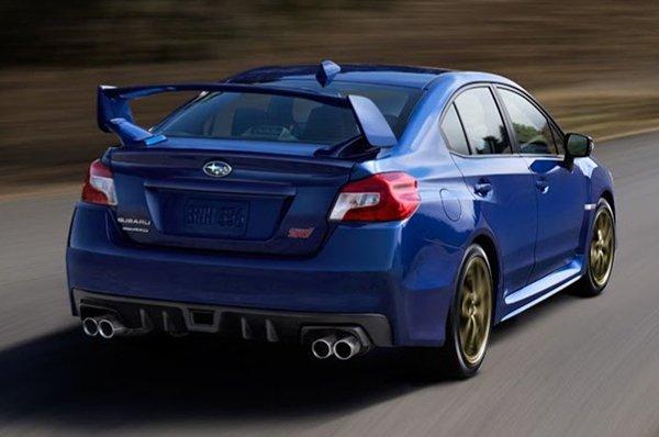 В сети появились фото Subaru WRX STI 2015