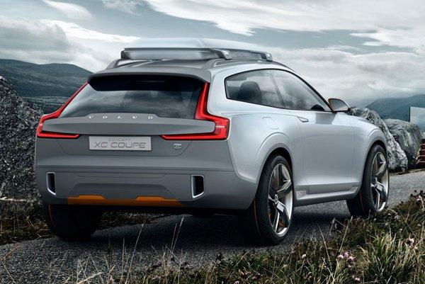 Concept XC Coupe - новый внедорожник от Volvo