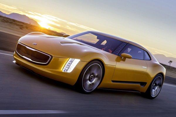 Kia построила концептуальный спорткар GT4 Stinger