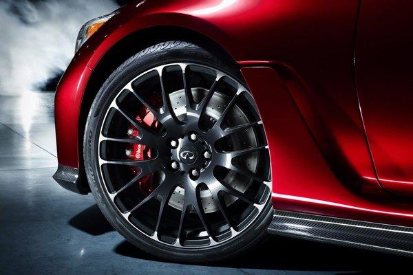 Infiniti показал концепт спортседана Q50 Eau Rouge