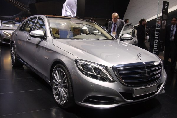 Детройт 2014: Mercedes-Benz S600