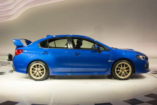 Детройт 2014: Subaru показала WRX STI 2015