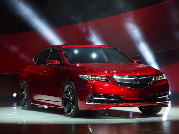 Детройт 2014: Acura представила люксовый седан TLX