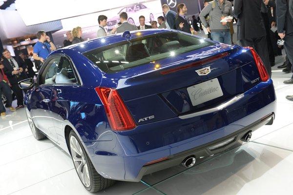 Детройт 2014: Cadillac представил роскошное купе ATS Coupe