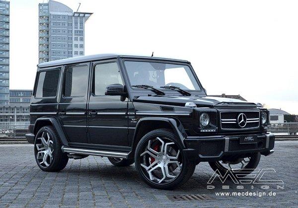 MEC Design «посадил» Mercedes-Benz G63 AMG на 24-дюймовые колеса